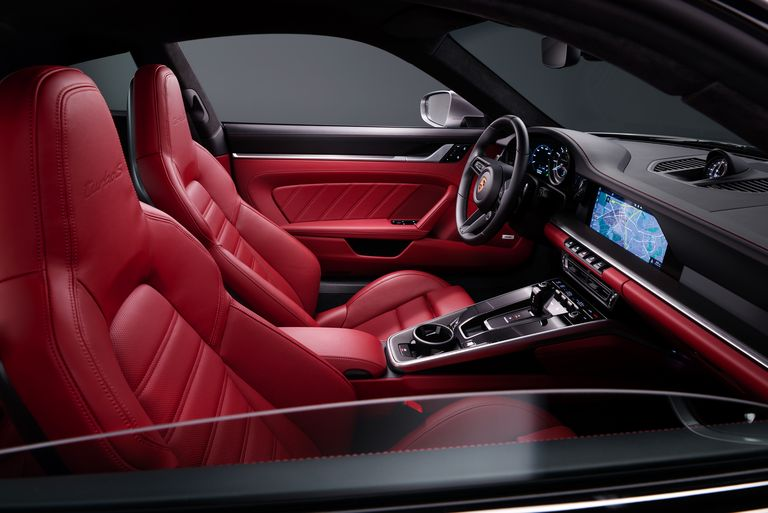 2021 Porsche 992 Turbo S Interior