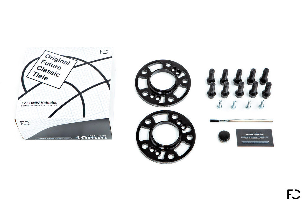Future Classic BMW Wheel Spacer Kit - Box Contents Layout