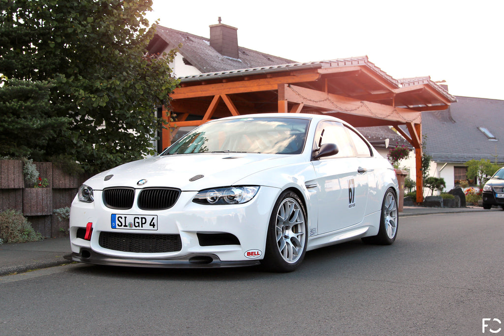 "BMW E92 M3 GT4 18"" Wheel Set - Made by BBS"