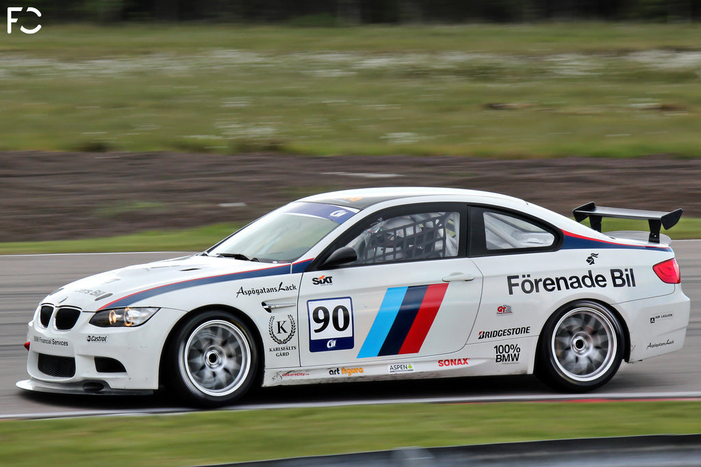 E92 M3 GT4 on Track