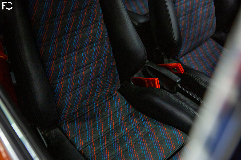 BMW 2002 Restoration Project: Recaro Seats with M Pattern