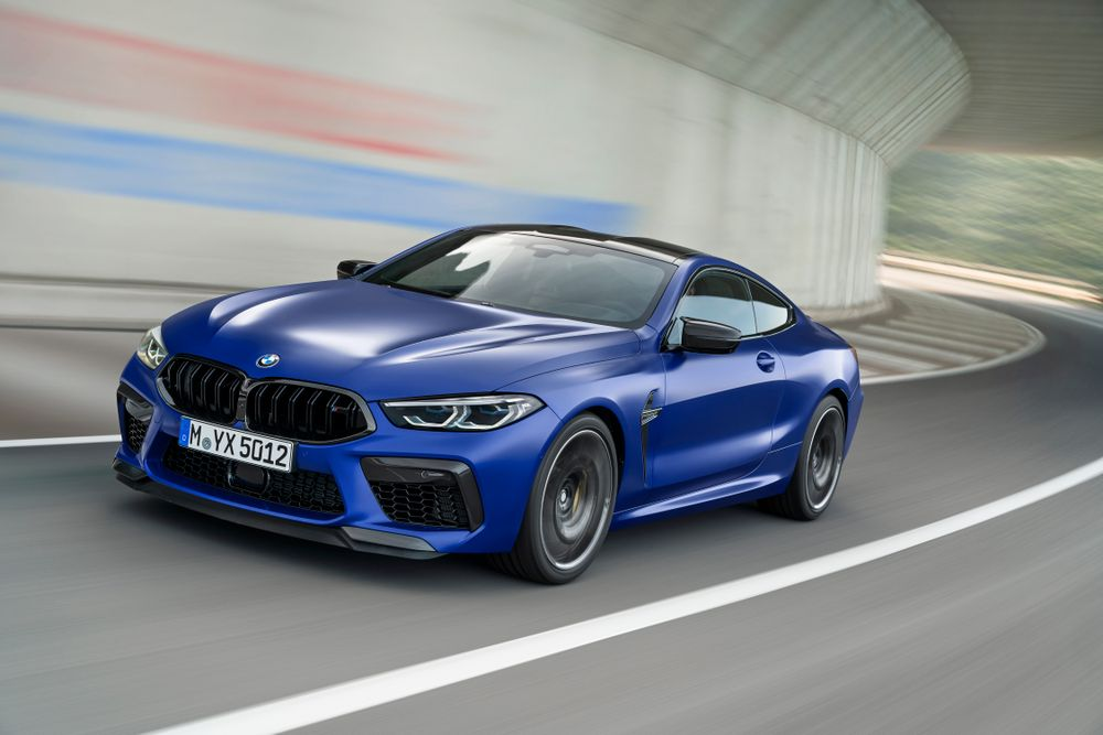 2020 BMW M8 Competition - Front View
