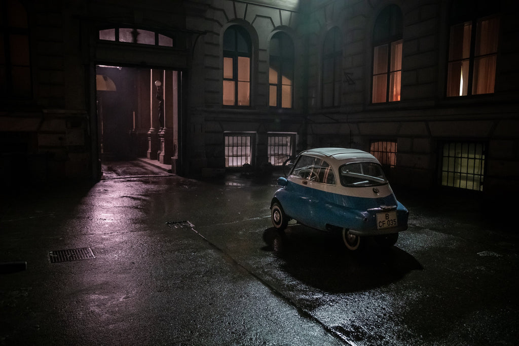 BMW Isetta: Hero During Berlin Wall Era