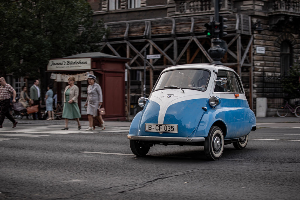 BMW Isetta Microcar Hero