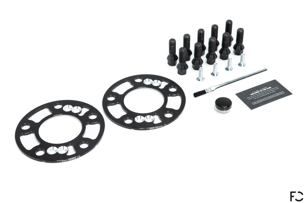Future Classic BMW Wheel Spacer Kit Contents