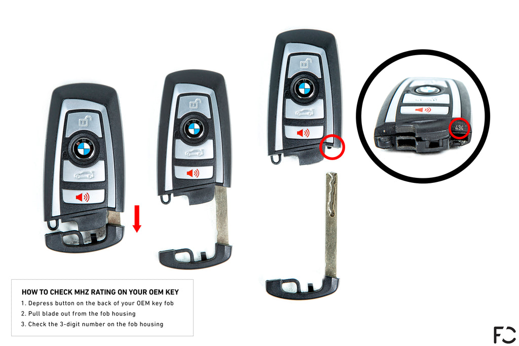 How to determine your BMW F-Chassis key frequency