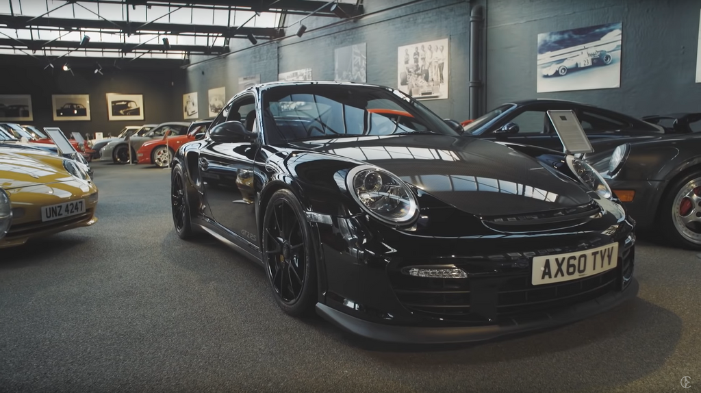 Porsche 997.2 GT2 at Hexagon Modern Classics