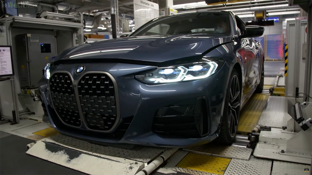 BMW 2021 4-Series in Production