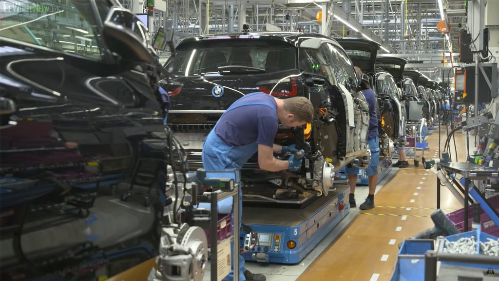 BMW i3 in German Production Line