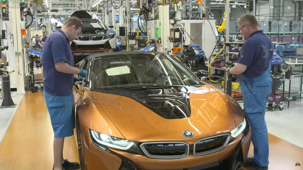 BMW i8 Final Inspection at German Production Plant Leipzig