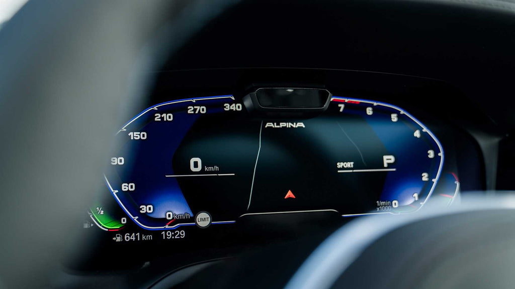 Alpina B3 Touring Debut - Gauge Cluster