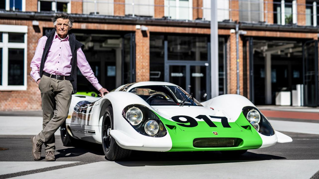 Top Gear: Hans Mezger with 917 Porsche