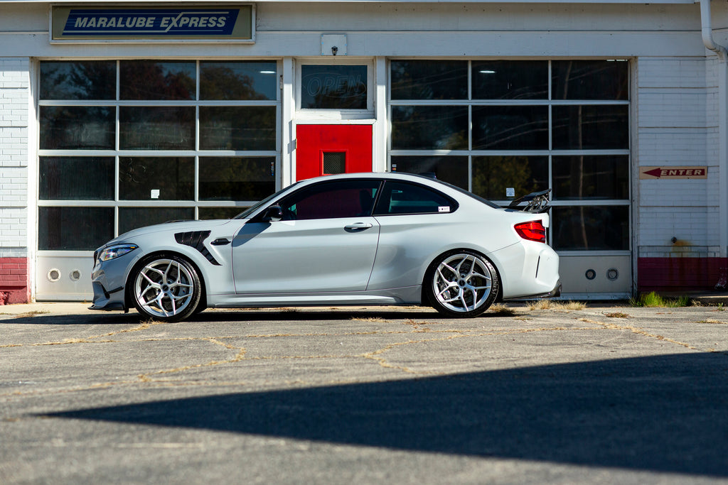 Future Classic F87 M2 Competition side shot