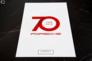 Future Classic - Porsche 70 Year Tribute Poster