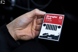 "Future Classic - Jeep ""Wrangler Club"" Club Sticker"