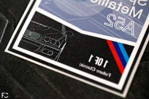 BMW Club Sticker - E46 'Blueprint' Style