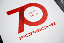 Load image into Gallery viewer, Future Classic - Porsche 70 Year Tribute Poster