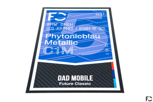 Future Classic - BMW Club Poster 11x17 (Competition Style)