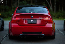 Load image into Gallery viewer, Future Classic aluminum license plate installed on an E90 M3 in hyper black finish