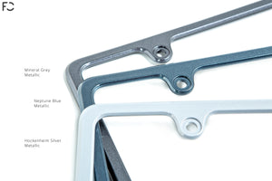 Future Classic Aluminum License Plate Frame + Hardware Kit