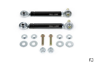 Fall-Line Motorsports E9X M3 rear sway bar end link set with hardware