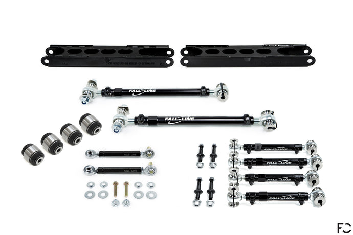 Fall-Line Motorsports x Future Classic - E9X M3 Ultimate Rear Suspension Package - Full Product Layout