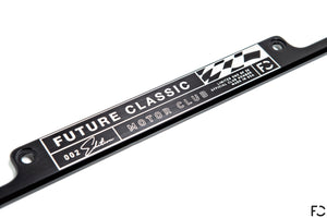 Future Classic - Motor Club Plate Frame + Hardware Kit (Limited Edition 002)