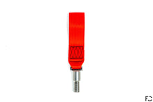 Load image into Gallery viewer, Future Classic - A90 Supra Titanium Tow Strap - Red, Top View