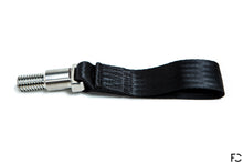 Load image into Gallery viewer, Future Classic - A90 Supra Titanium Tow Strap - Black, Side View