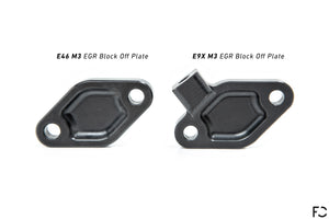 Future Classic - E9X M3 EGR Block-Off Plate (by Fall-Line Motorsports)
