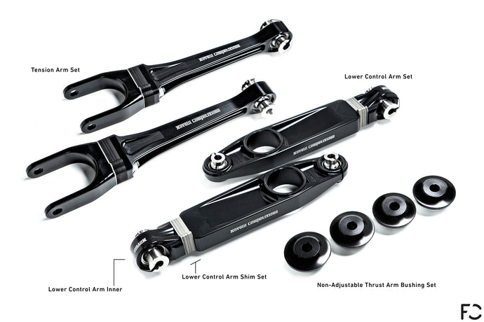 Novelli Competizione - Porsche 991 GT3 / RS Complete Front Suspension Package
