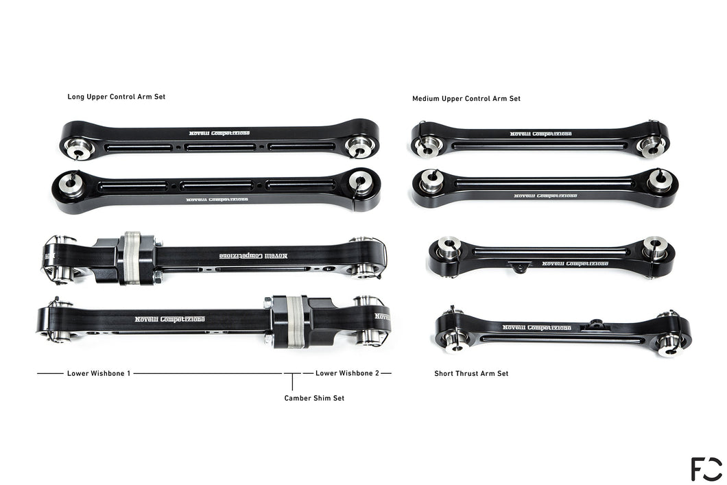 Novelli Competizione - Porsche 991 GT3 / RS Rear Suspension Arm Set