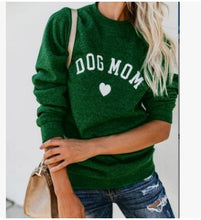 Load image into Gallery viewer, Dog Mom Love Sweatshirt