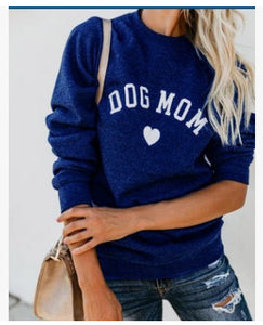 Dog Mom Love Sweatshirt