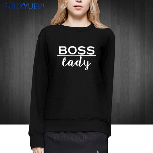 Boss Lady Pullover Sweatshirt