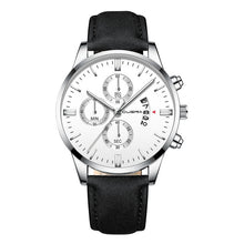 Load image into Gallery viewer, Boss Man - Leather Band Dress Watch