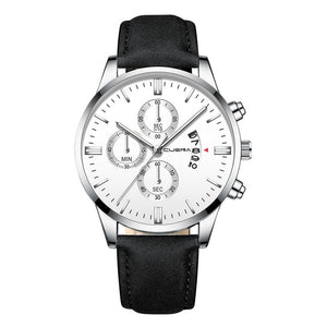 Boss Man - Leather Band Dress Watch