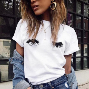 Eyes and Lashes - Short Sleeve T-Shirt