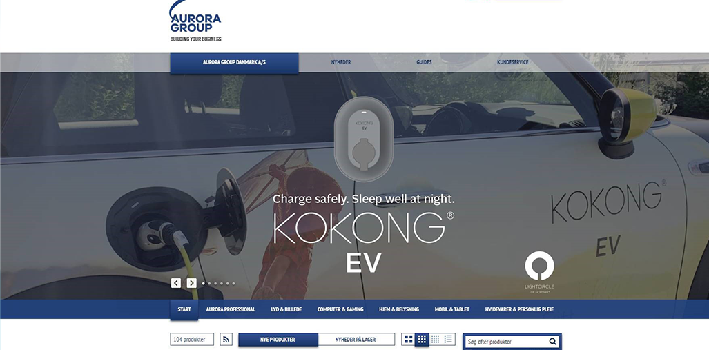 Aurora Group has now launched the KOKONG product series into the Nordics
