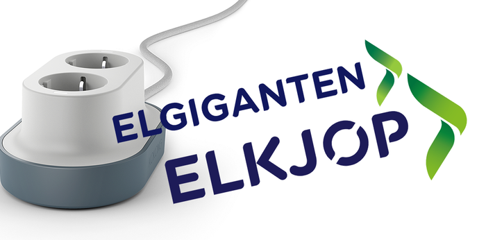 KOKONG smartsocket is now available all over the Nordics in Elkjøp and Elgiganten