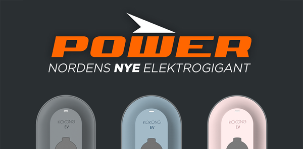 Agreement with POWER. All Kokong products available in POWER in Scandinavia.