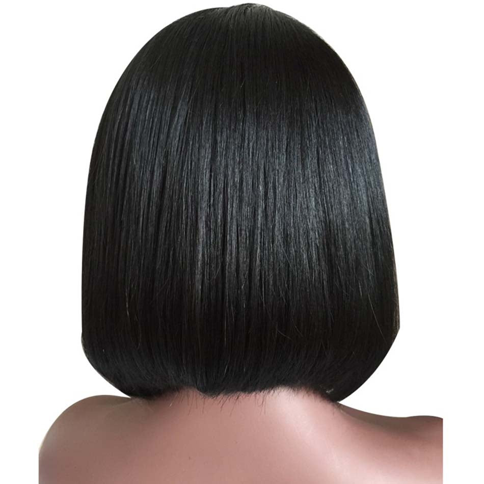 bob wigs with baby hair unprocessed human virgin hair