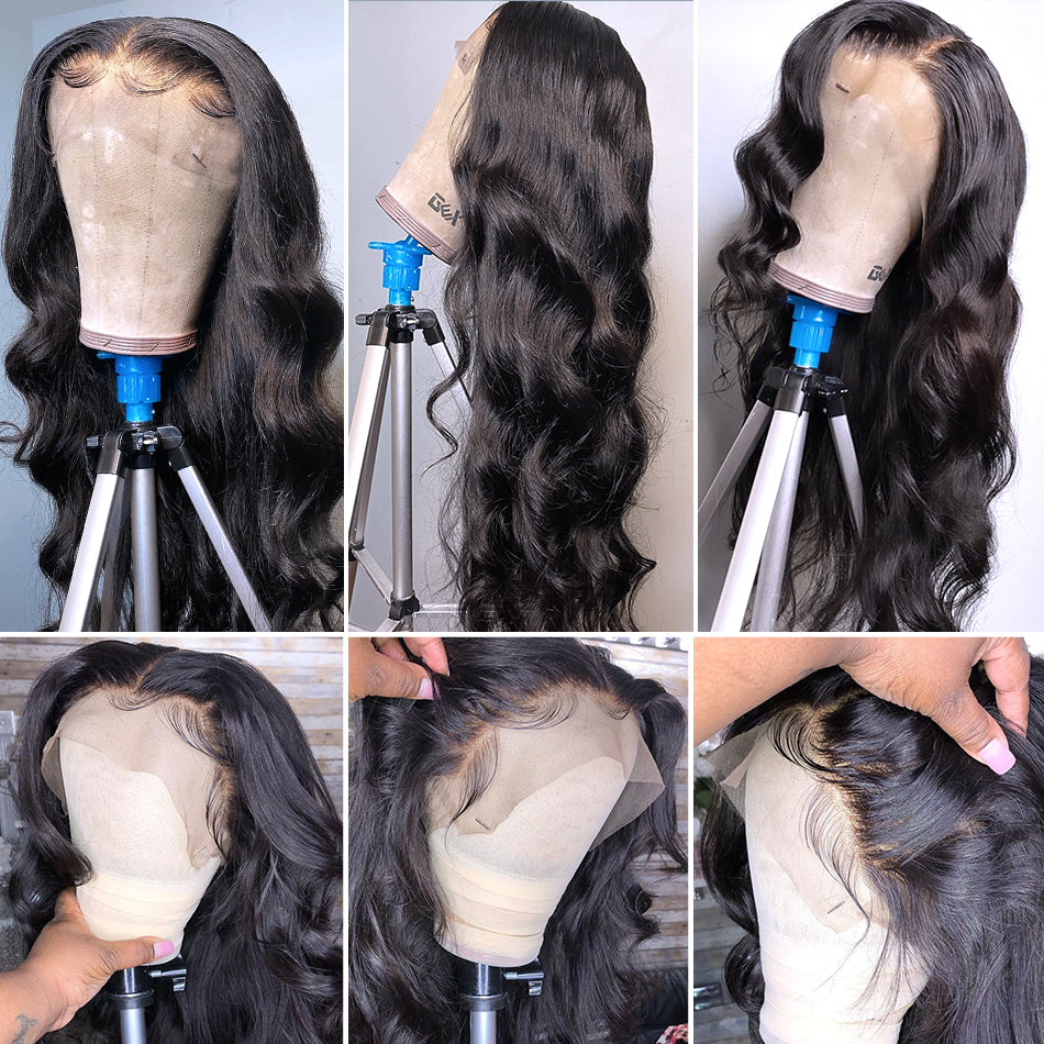 13x4 Lace Front Human Hair Wigs Body Wave Lace Frontal Wigs For Women