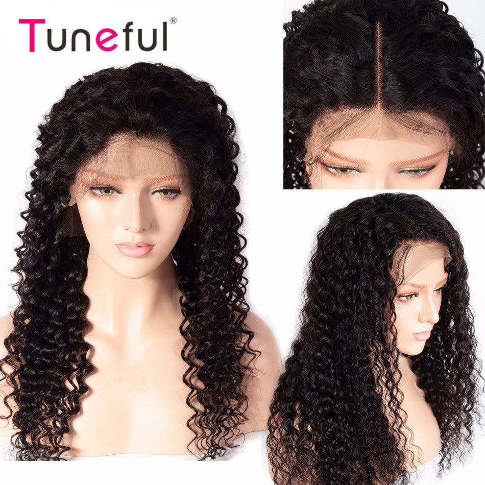 Lace Front Wigs  Raw Indian Remy Human Hair Wigs for Women