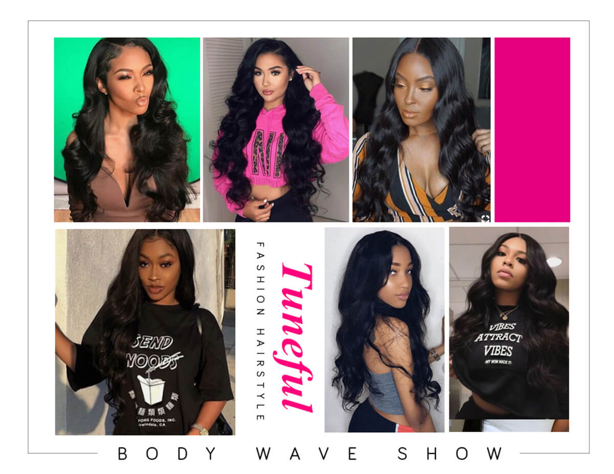 360 Lace Front Wig Body Wave Tuneful Wig For Sale