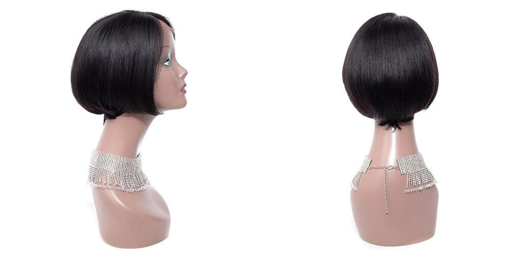 tuneful hair bob wig side part lace wigs