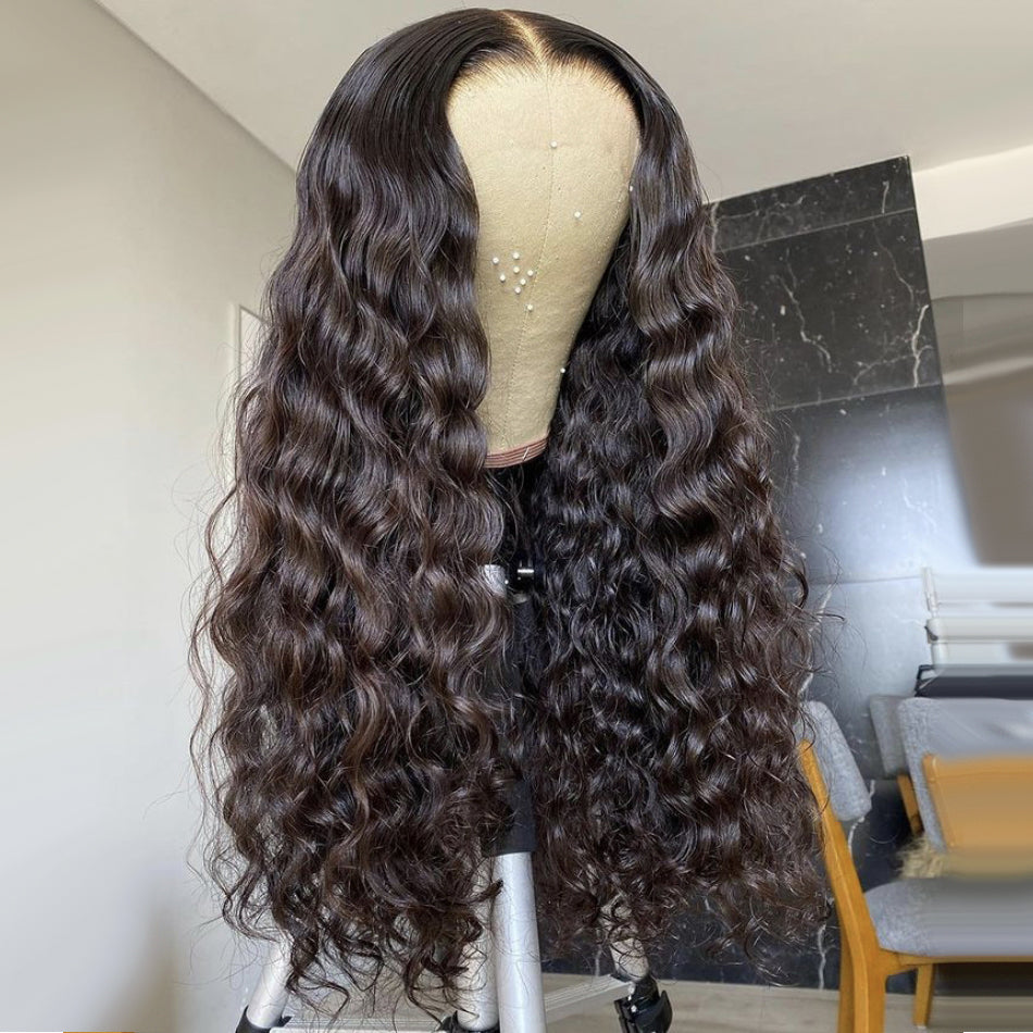 13x4 Lace Frontal Human Hair Wigs Pre Plucked Brazilian Wavy Remy Human Hair Closure Wigs