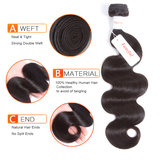 Body Wave Remy Hair Weft Weaving Can Be Dyed Restyled Hair- Tuneful Hair