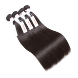 Tuneful Malaysian Straight 4 Bundles Remy Human Hair 100% Hair Weave Extensions Hair Weft Weave Bundle Can Be Dyed - Tuneful Hair