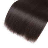 Straight 4 Bundles Remy Human Hair 100% Hair Weave Extensions Hair Weft Weave- Tuneful Hair